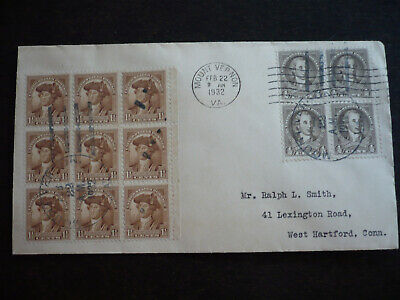 Stamps - USA - Postal History - Scott# 706 & 704 on Cover