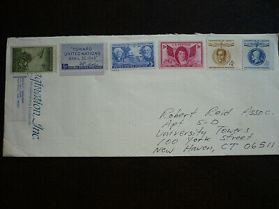 Stamps - USA - Postal History - Scott# 929,928,982,962,1110,1147 on Cover