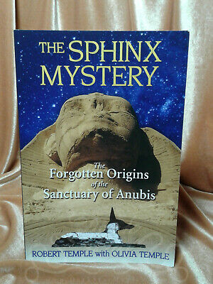 The Sphinx Mystery Robert Temple ancient Egypt pyramids Anubis occult history