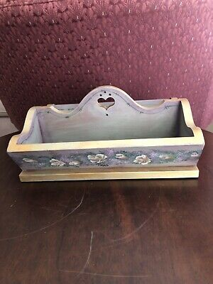 Hand Painted Wooden Tray With Sides