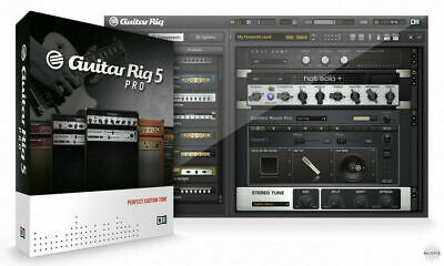 Guitar Rig 5 Pro Complete VST & Standalone Amp & Effects Software Windows & Mac