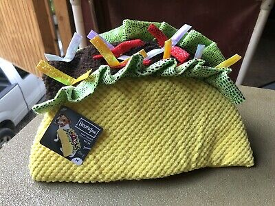 Bootique Taco Costume For Dogs. Size Medium