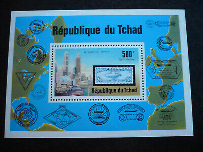 Stamps - Chad - Anniversary of flight - Scott# C210