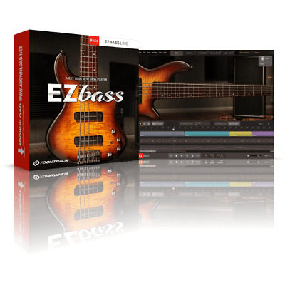 🔥Toontrack EZbass v1.0.0 2020 Bass Guitar Midi Drums 🔥WIN/MAC