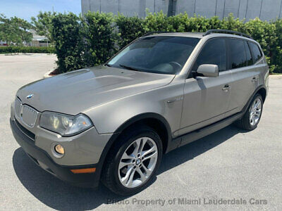 2008 BMW X3 3.0si Sport Package Low Miles Clean Carfax All Wheel Drive Sport Package Sunroof Dealer Serviced AWD