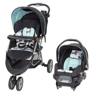 Baby Car Seat and Stroller Infant Kid Travel System Universal Newborn Combo Set