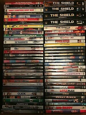 Lot of 64 DVDs INCLUDES SEASONS SUPER CLEAN----FREE SHIPPING