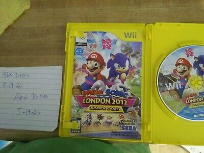Nintendo Wii  game lot Mario and Sonic Olympic Games 2012 Wii Sports Resort