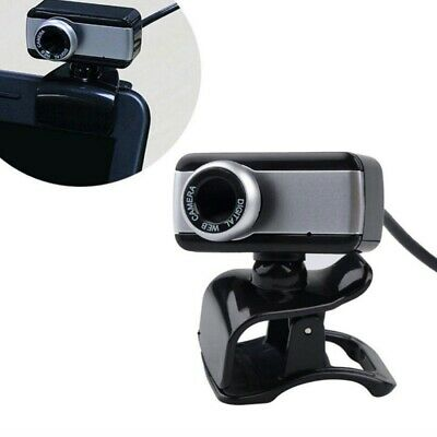 Webcam Con Microfono Usb 2.0 X Pc Videocamera Smart Working Zoom Skype Camera