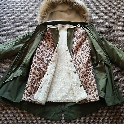 Girls All Seasons Coat/ parka Size 13 Years, Matalan, Excellent Condition