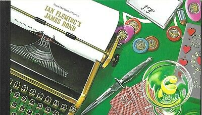 Royal Mail 2008 IAN FLEMING'S James Bond PRESTIGE STAMP BOOK