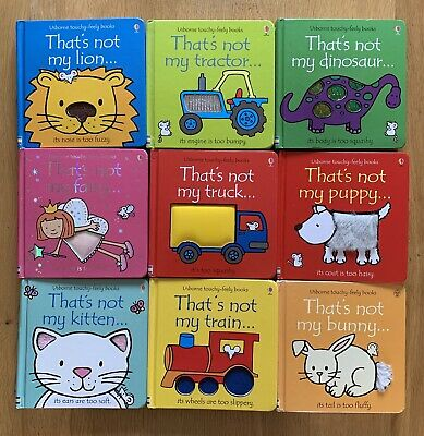 'That's Not My' Books - Touchy Feely Usborne Bundle