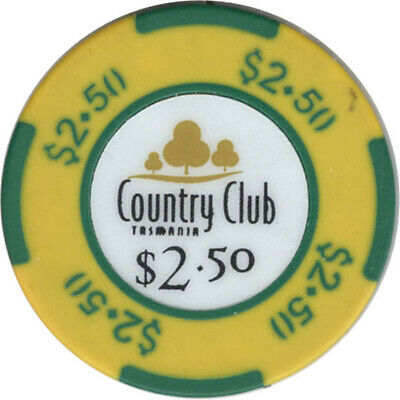County Club Casino - $2.50 Casino Chip