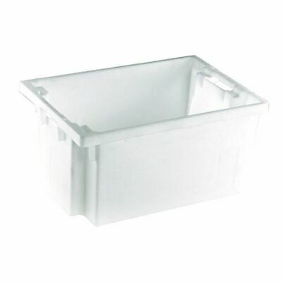 Solid White 600X400X300mm Container - SBY24791