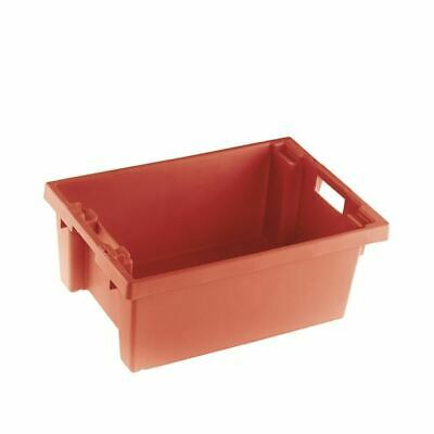 Solid Red 600X400X200mm Container - SBY24785
