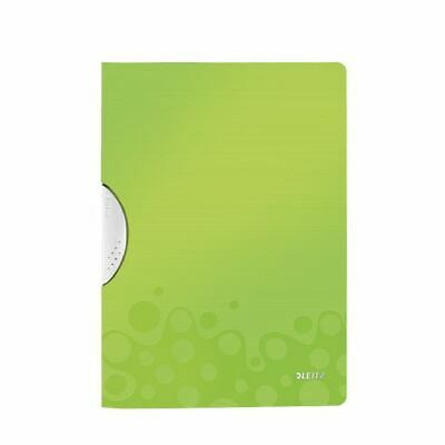 Leitz WOW Colorclip PP File Green Pk10 - LZ56212