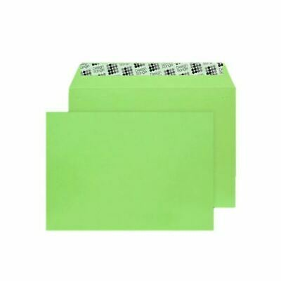 C5 Envelope P Seal Lime Green Pk250 - BLK93018