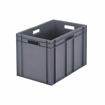 Grey 600x400x280mm Euro Stack Container - SBY04927