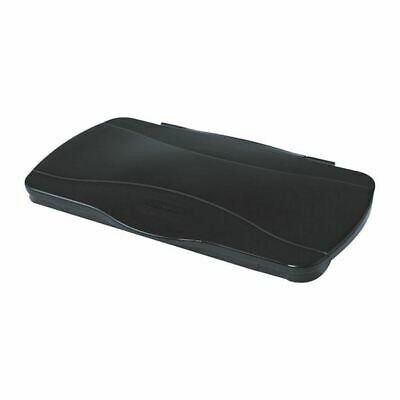 Rubbermaid Slim Jim Hinged Lid Black - RU18641