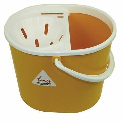 Lucy 15 Litre Yellow Mop Bucket L1405294 - SYR03344