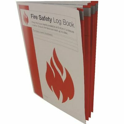 Fire Safety Log Book IVGSFLB - IVG00285