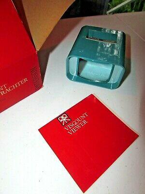 Vintage Viscountpaterson Viewer Mint In Original Box With Instruction Booklet