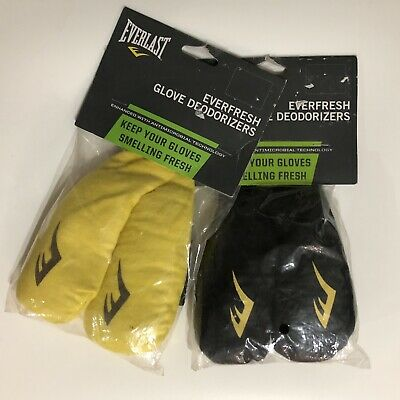 Everfresh Glove Deodorizers For Boxing Gloves Everlast Fits Any Gloves New