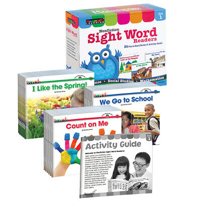 Newmark Learning Nonfiction Sight Word Readers St 1 4664