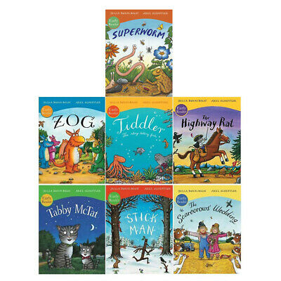 Julia Donaldson and Axel Scheffler Picture Early Readers 7 Books Collection Set