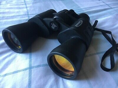 Zennox 8-24x50 Zoom Binoculars, boxed and with carry bag