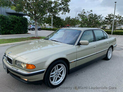 2000 BMW 7-Series 740iL Sport Package BMW E38 740i Sport One Owner Low Miles Clean Carfax Dealer Serviced Fully Loaded