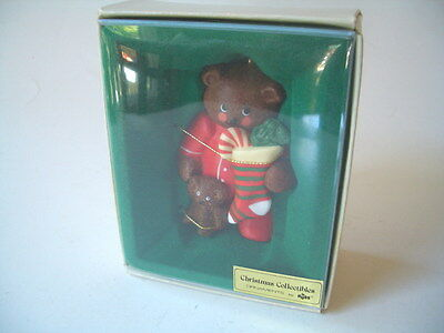 Russ Christmas Collectibles Ornament Bear