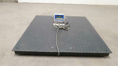 Weigh South WS10 Floor Platform Scale 5000 Lbs T147978