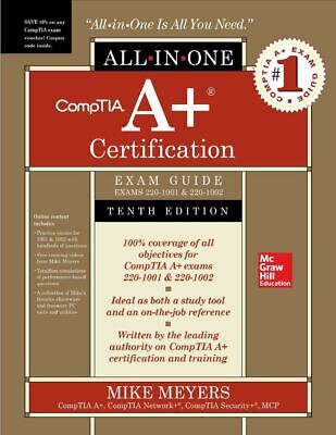 CompTIA A+ Cert All-in-One Exam Guide,10th Edition 220-1001 & 220-1002 - PDF