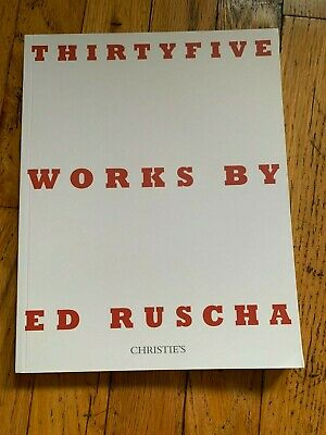 Christie's Catalog - Thirty Five Works By Ed Ruscha - 9/19 - New York
