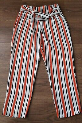 River Island Girls 10-11 Years Trousers Lightweight Flowing Striped age 11