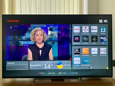 Toshiba 49 Inch 4K Ultra HD-Used but stunning condition. Collection only (E33GF)