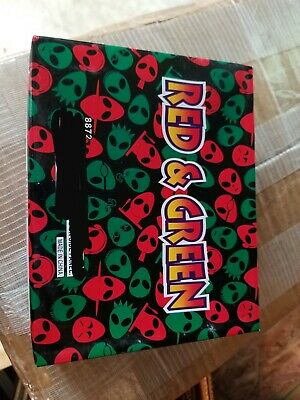 Red And Green Single Shot Firework Label x7