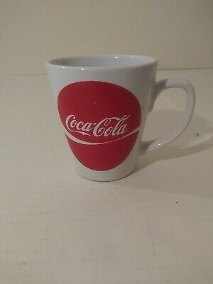 Coca-Cola Coffee Mug Red And White