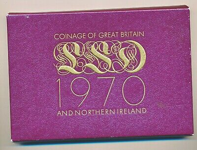 1970 Coinage Of Great Britain And Northern Proof Set