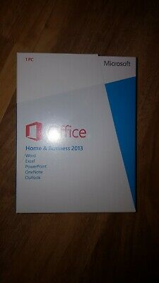Microsoft Office 2013 Home and Business Brand new