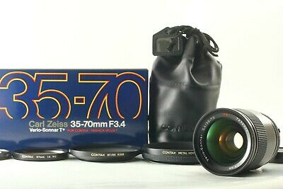 [App Mint in Box] Contax Carl Zeiss Vario-Sonnar T* 35-70mm f/3.4 MMJ From Japan