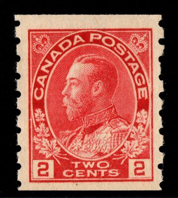 #127 Canada mint never hinged well centered XF cv $150