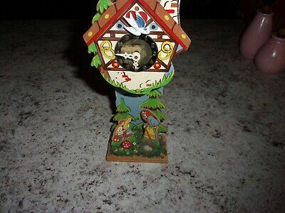 Mini Linden Black Forest grandfather clock wood Germany