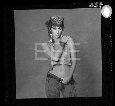 CHER Music Singer Movie Actress Harry Langdon Negative w/rights 37F