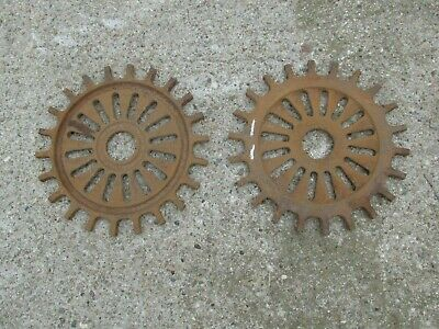 Farmall Soybean Seed Cast Iron Planter Plates 3127A