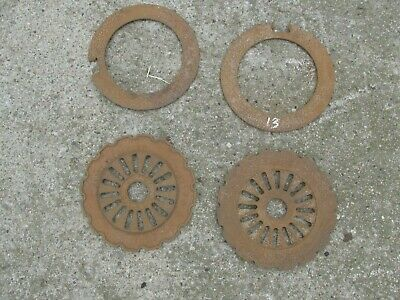 Farmall Popcorn Planter Plates and Filler Rings
