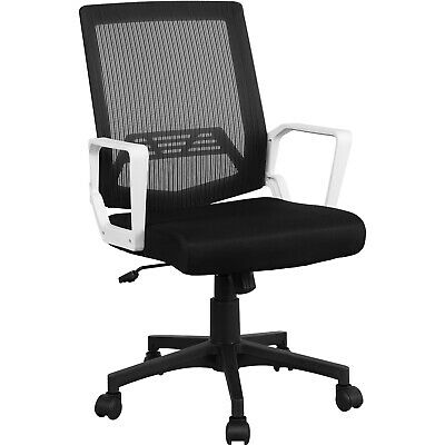 Mid-Back Mesh Office Chair Executive Task Ergonomic Computer Desk Chair Gray