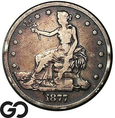 1877-S Trade Dollar, Always In High Demand Silver Dollar Series