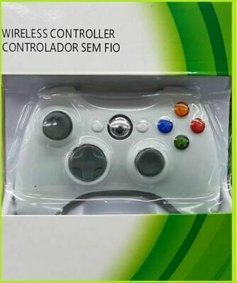 Genuine Wireless Game Controller For Microsoft Xbox 360 Gamepad White US